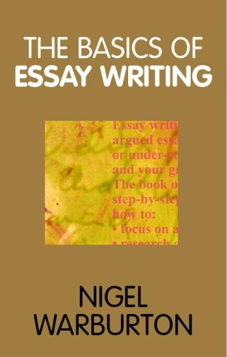 essay writing books writing the final essay writing issues  the basics of essay writing pocket edition by nigel warburton