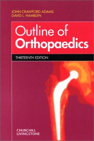 Adams Orthopedics Ebook