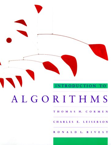 Introduction to Algorithms by Ronald L. Rivest