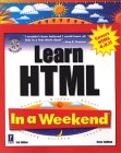Learn HTML in a Weekend, 3rd Edition W/CD [With CDROM]