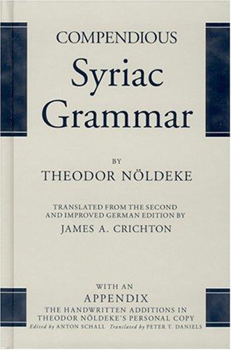 Compendious Syriac Grammar