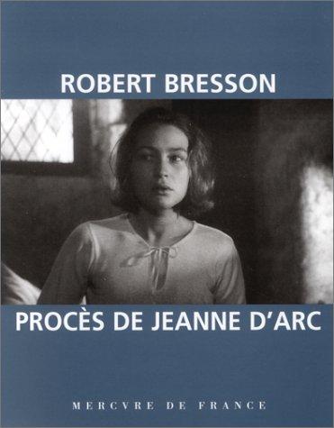 Procs De Jeanne Darc Film By Robert Bresson