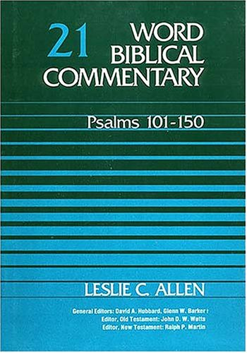 Psalms 101-150 by Leslie C. Allen
