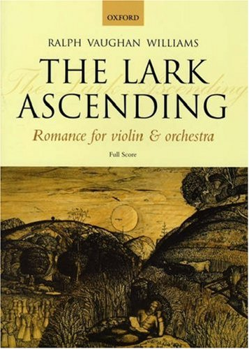 The lark ascending: romance for violin & orchestra: full score by Ralph Vaughan Williams