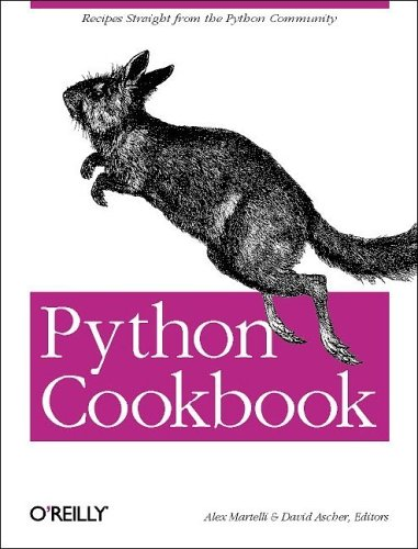 Python Cookbook by Alex Martelli