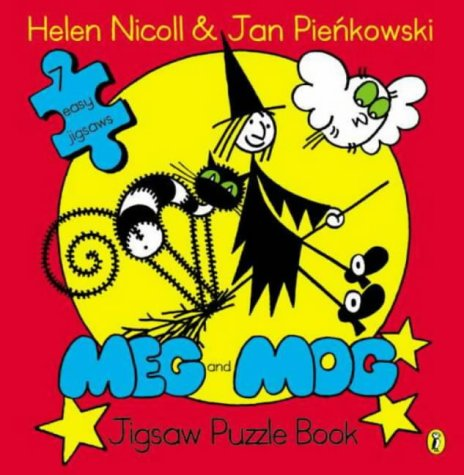Meg And Mog: Jigsaw Puzzle Book