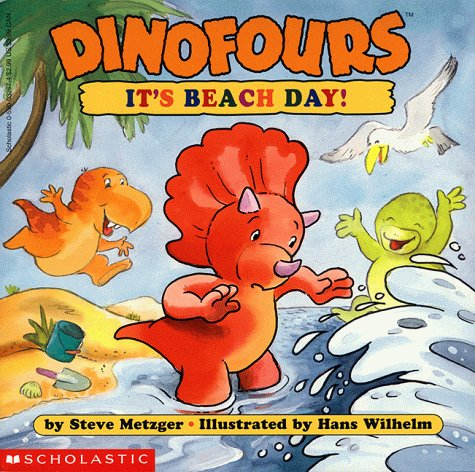 Dinofours #9: It's Beach Day