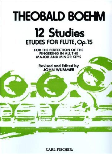 12 Studies Etudes for Flute, Op. 15