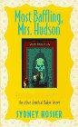 Most Baffling, Mrs. Hudson