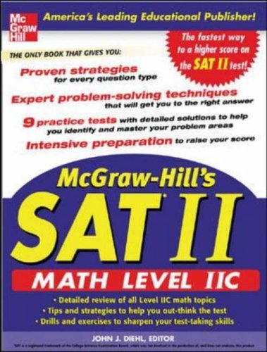 McGraw-Hill's SAT II Math Level 2