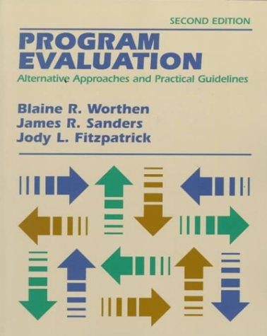 Program Evaluation by Blaine R. Worthen