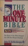 Holy Bible: One-Minute Bible: New International Version