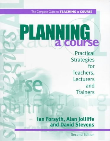 Planning a Course 2nd Ed