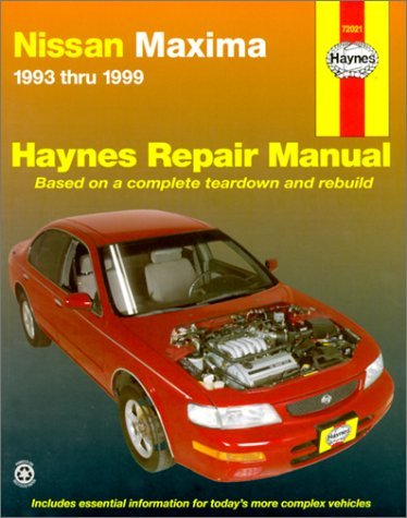 Nissan Maxima automotive repair manual