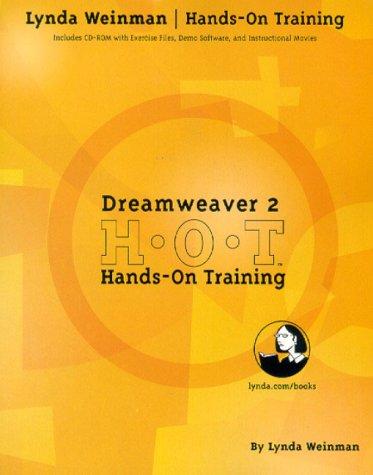 Dreamweaver 2 Hands-On Training [With CDROM] by Lynda Weinman