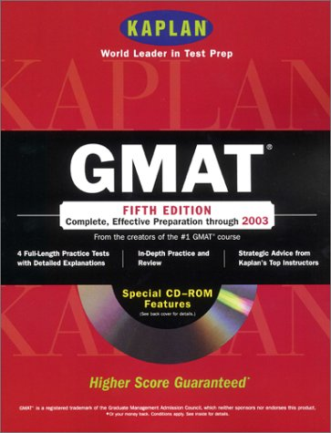 GMAT with CD-ROM: Fifth Edition
