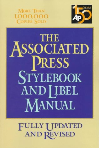 Associated press stylebook and libel manual by norm goldstein 1919002 fandeluxe Choice Image