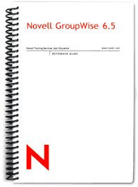 Novell GroupWise 6.5 Reference Guide