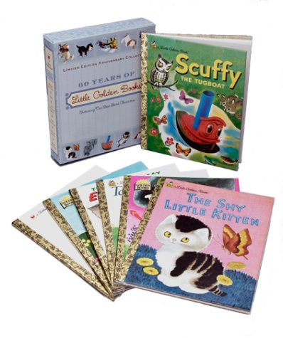 60 Years of Little Golden Books: Limited Edition Anniversary Collection (Little Golden Book)