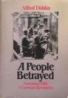 A People Betrayed (November 1918, #2)