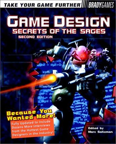 Game Design Secret Of The Sages By Marc Saltzman - Game design books