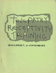 Telepathy Receptivity Training by tENTATIVELY, a cONVENIENCE