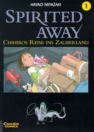 Spirited Away Book