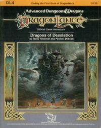 Dragons of Desolation by Tracy Hickman