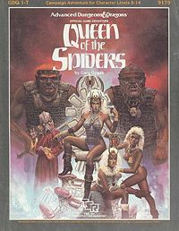 Queen of the Spiders (Supermodule GDQ1-7) (Advanced Dungeons & Dragons)