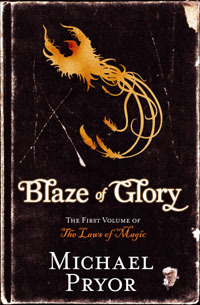 Blaze of Glory(The Laws of Magic 1)