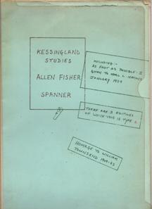 Kessingland Studies by Allen Fisher