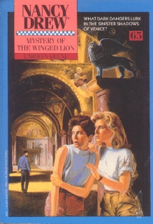Mystery of the Winged Lion (Nancy Drew, #65)