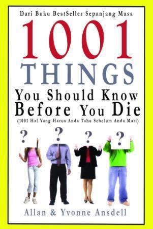 1001 Things You Should Know Before You Die Descargas gratuitas de libros electrónicos de torrents