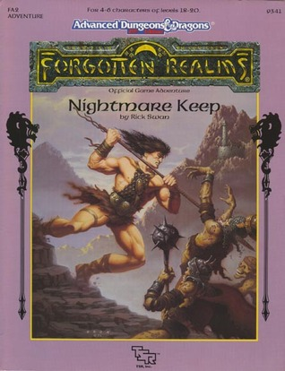Nightmare Keep (Advanced Dungeons & Dragons/Forgotten Realms module FA2)