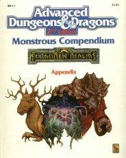 Monstrous Compendium Forgotten Realms Appendix