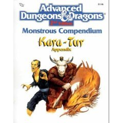 Monstrous Compendium: Kara-Tur Appendix