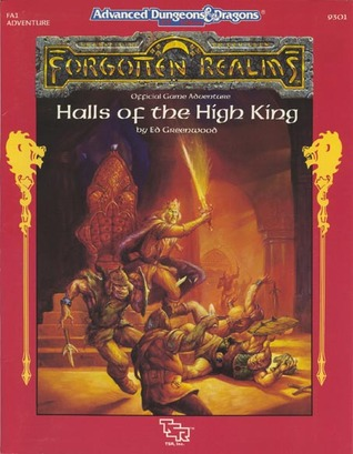 Halls of the High King (Advanced Dungeons & Dragons Forgotten Realms, Fa1 Adventure)
