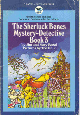 The Sherluck Bones Mystery-Detective Book 3