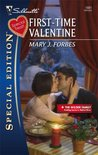 First-Time Valentine (The Wilder Family, #2)