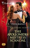 The Apollonides Mistress Scandal (Silhouette Desire, #1829) (Billionaire Heirs, #2)