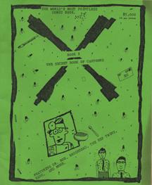 Book X - The Secret Book of Cartoons by Burkley Sauls