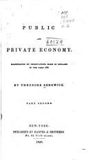 Public and Private Economy
