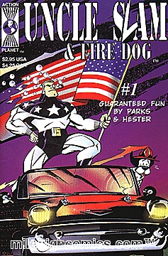 Uncle Slam & Fired Dog by Ande Parks