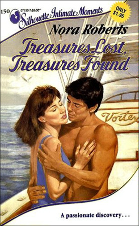 Treasures Lost, Treasures Found by Nora Roberts