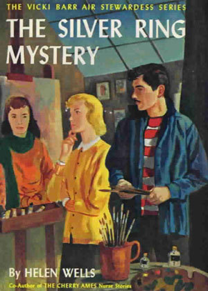 The Silver Ring Mystery (Vicki Barr Flight Stewardess, #13)