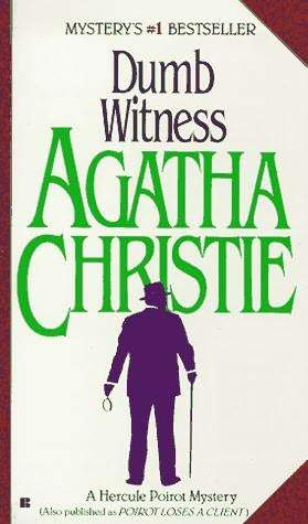 dumb witness christie agatha