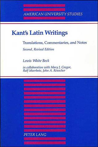 Latin Writings, Translations, Commentaries & Notes