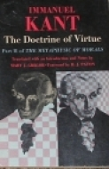 The Doctrine of Virtue: Part 2 of The Metaphysic of Morals