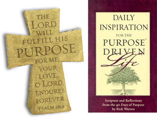 Daily inspiration for the purpose driven life (book & cross gift pack) by Rick Warren