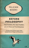 Before Philosophy